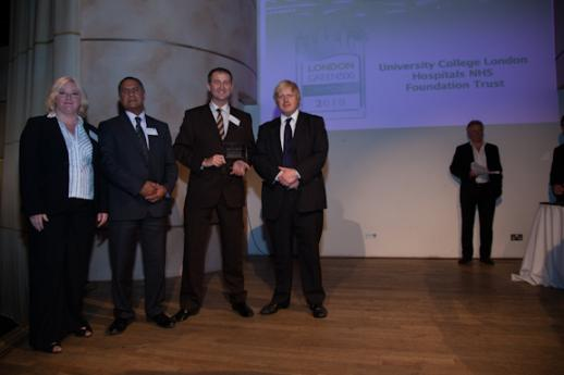 UCLH - Diamond award